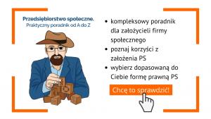 Przedsiębiorstwo społeczne. Praktyczny poradnik od A do Z.
